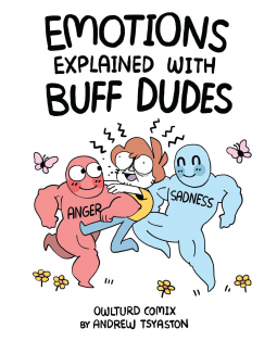 emotions explained with buff dudes